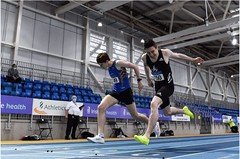 Mark English breaks indoor record Feb 2021