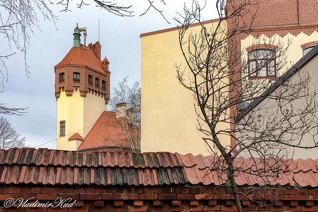 Riga. Fire depot - museum