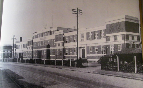 Art Deco Hollerith Factory Photograph, Bletchley Park,
