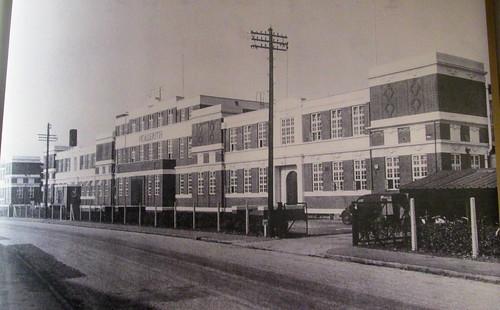 Art Deco Hollerith Factory Photograph, Bletchley Park,