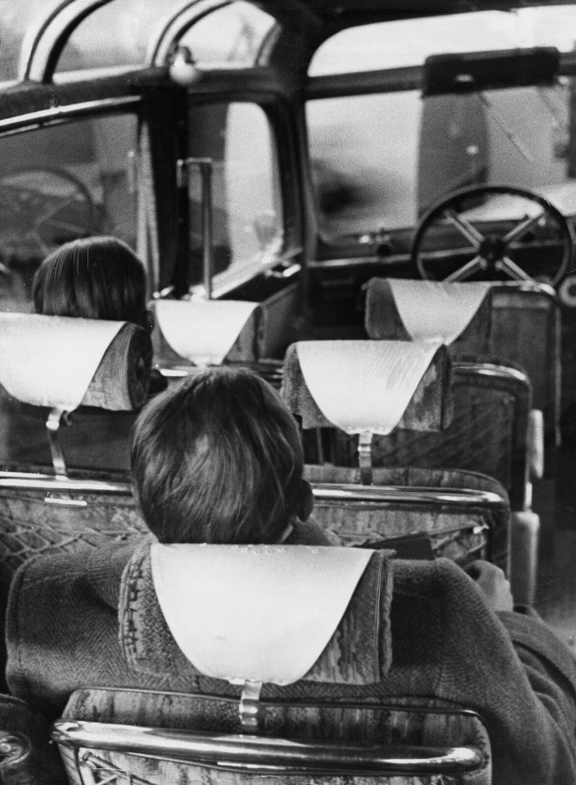 19. Подголовники в туристическом автобусе