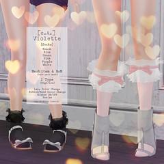 [c.A.] Violette [Socks]