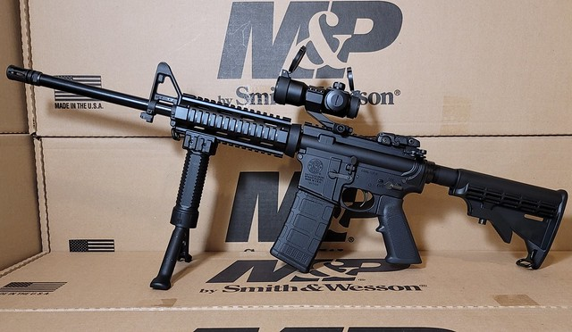 Mp15 fixed front red dot