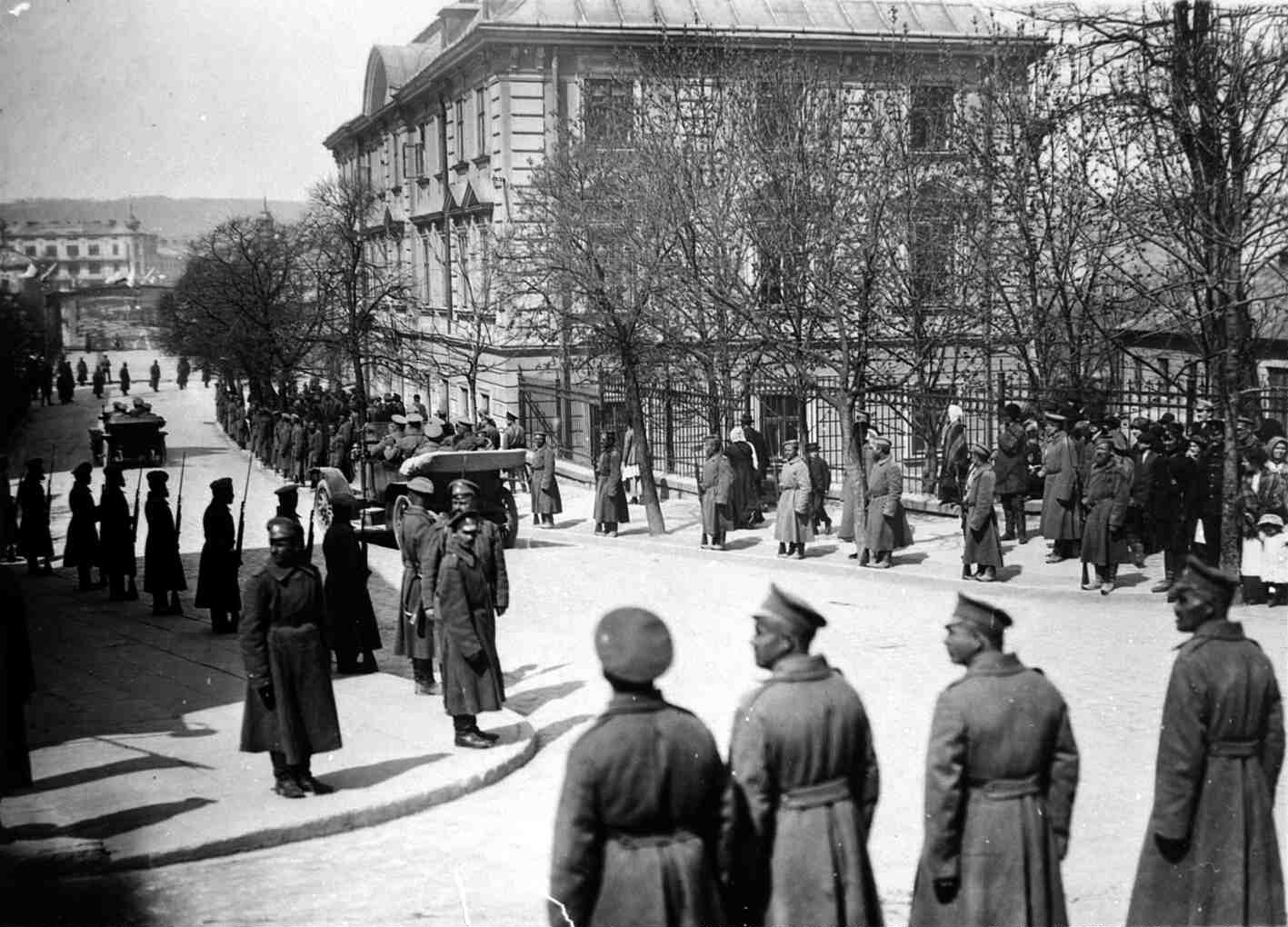 1915. Перемышль в дни пребывания Николая II в нем