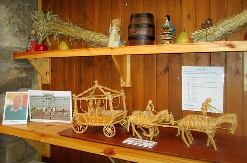 Corn Dolly Coronation Coach Fife Folk Museum