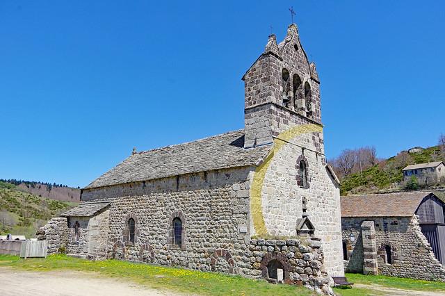 L'église paroissiale de Mazan-l'Abbaye (Ardèche)