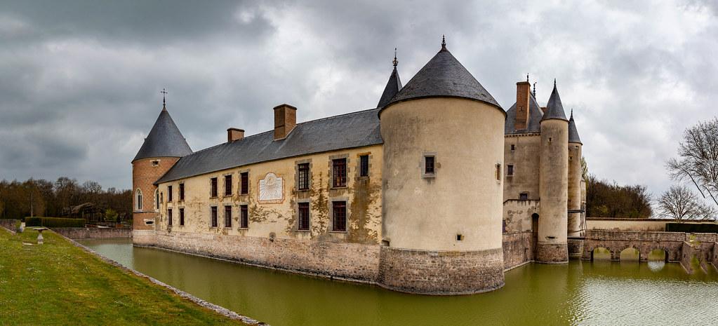 Panorama du chateau de Chamerolles
