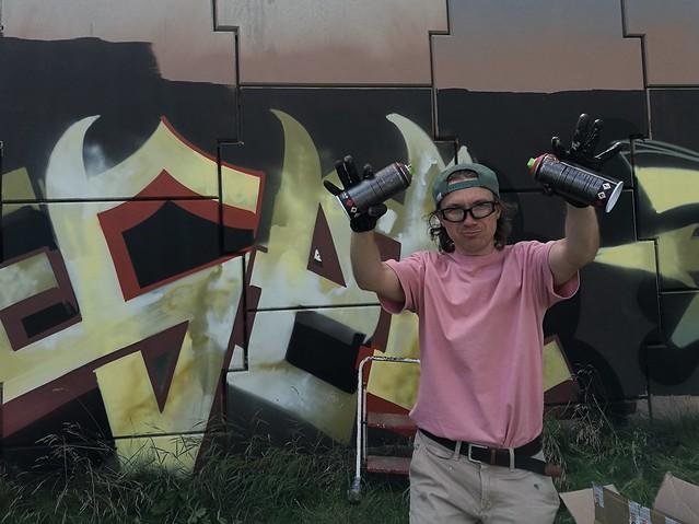 Artek Leser, Subiektywnie o graffiti