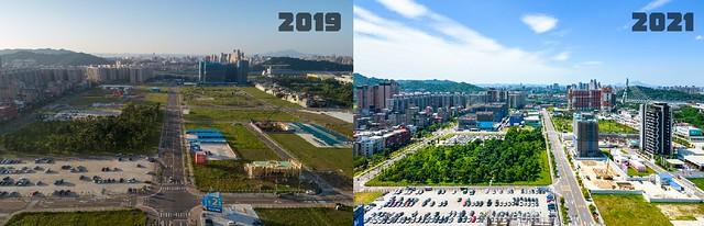 2019 & 2021 年央北重劃區