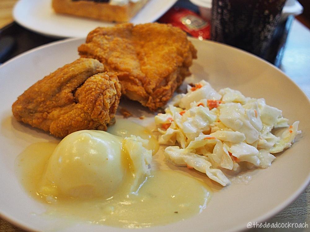 balmoral plaza,waffletown,waffle town,belgian waffles,fried chicken,singapore,food review,food,review,bukit timah,waffle ala mode,fish burger,