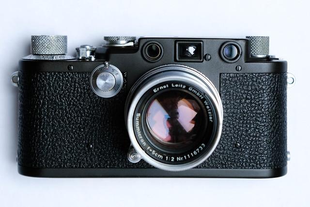 Leica IIIf RD Black Paint (DIY-repaint)