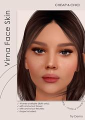 NEW! Virna face skin [Genus]