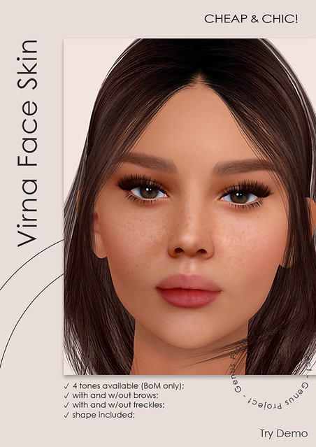 NEW! Virna face skin [Genus]