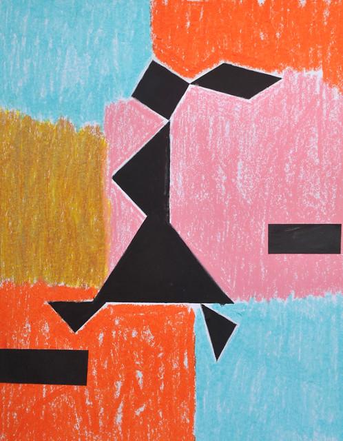 tangram girl