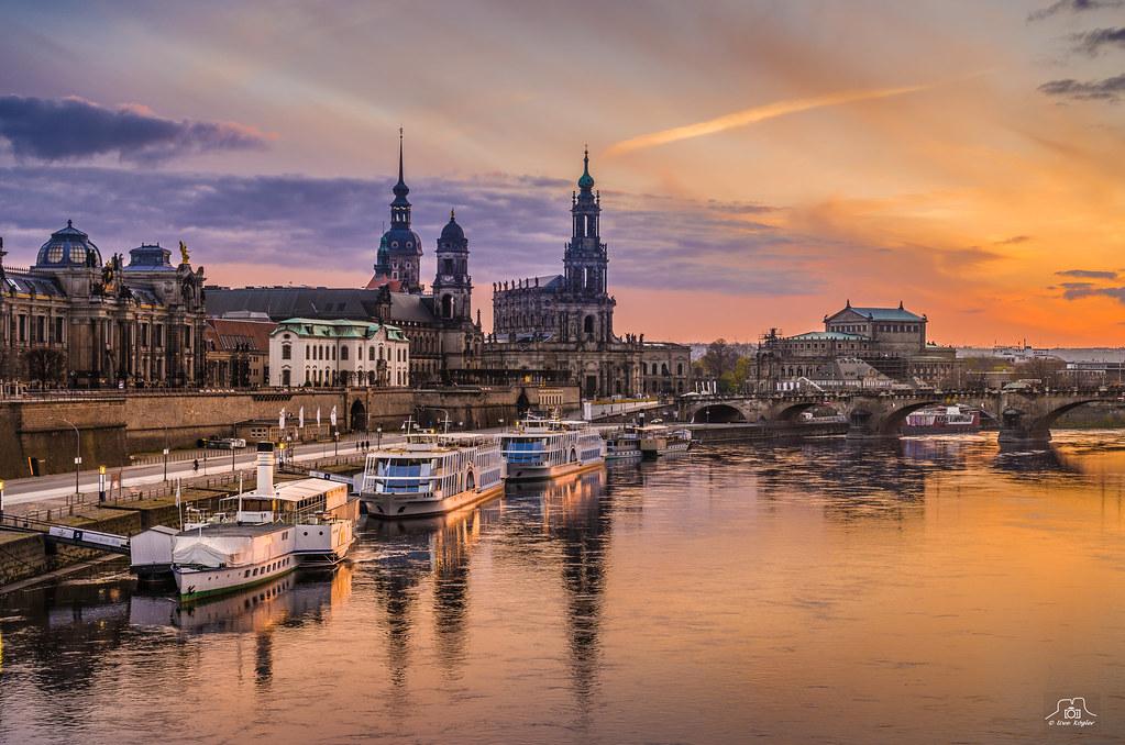 Dresden im Abendlicht III