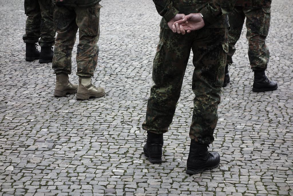 Berlin, April 2021: Uniformen
