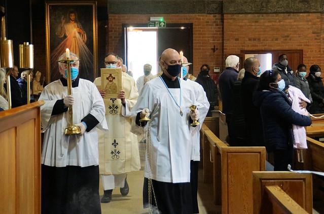 Walsingham East Anglia Pilgrim Mass May21