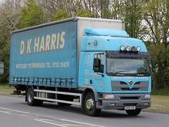 quicksilver coaches posted a photo:NX05 AXK2005 Foden Alpha 2000 250 XLD.K. Harris, Whittlesey, CambridgeshireBuckingham, 29 April 2021