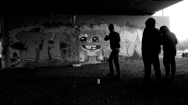 OLDENBURG - BRIDGE GALLERY / bridges near the city center - Brücken in Innenstadtnähe / Graffiti, street art - 1.218th picture