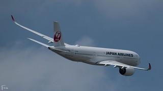 Japan Airlines Airbus A350-900 (F-WZNO JA09XJ MSN497) (04/05/2021)