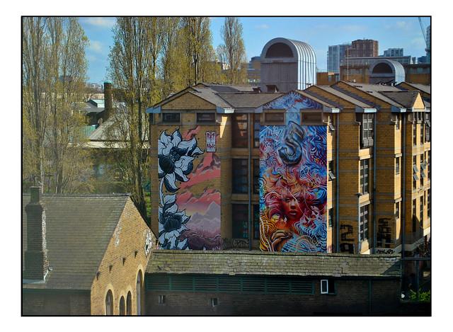 LONDON STREET ART by ED HICKS/THIS1 ART/JIM VISION/FANAKAPAN