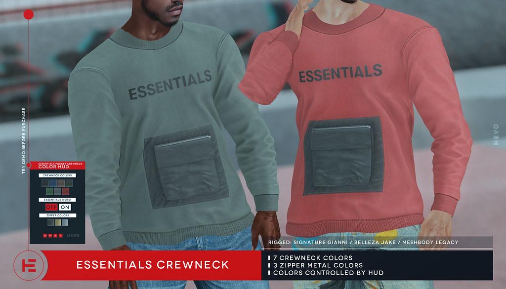 HEVO – Essentials Crewneck