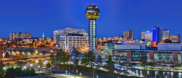 City of Knoxville, Knox County, Tennessee, USA