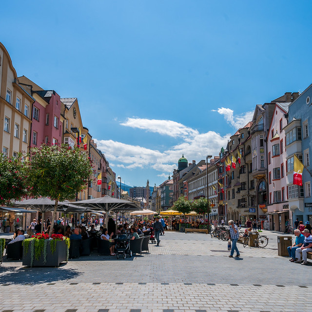 Maria-Theresien-Straße Innsbruck