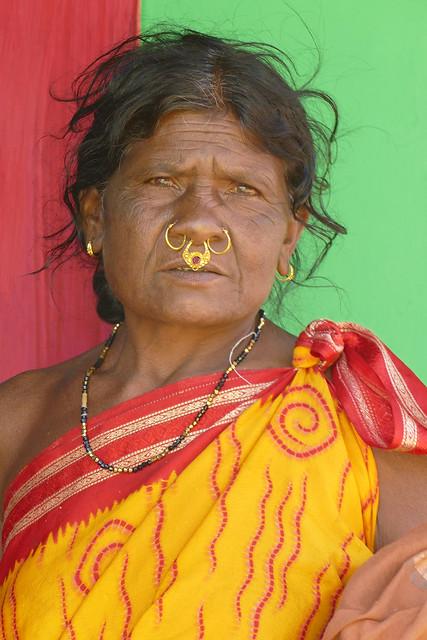 Femme en couleur