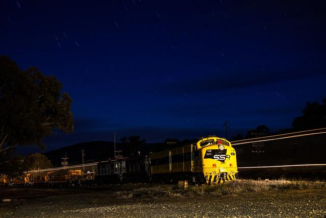 Illuminated Streamliner