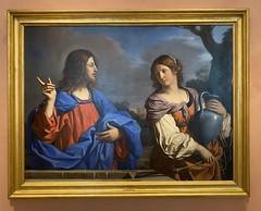 Jesús y la samaritana en el pozo 1641 Il  Guercino