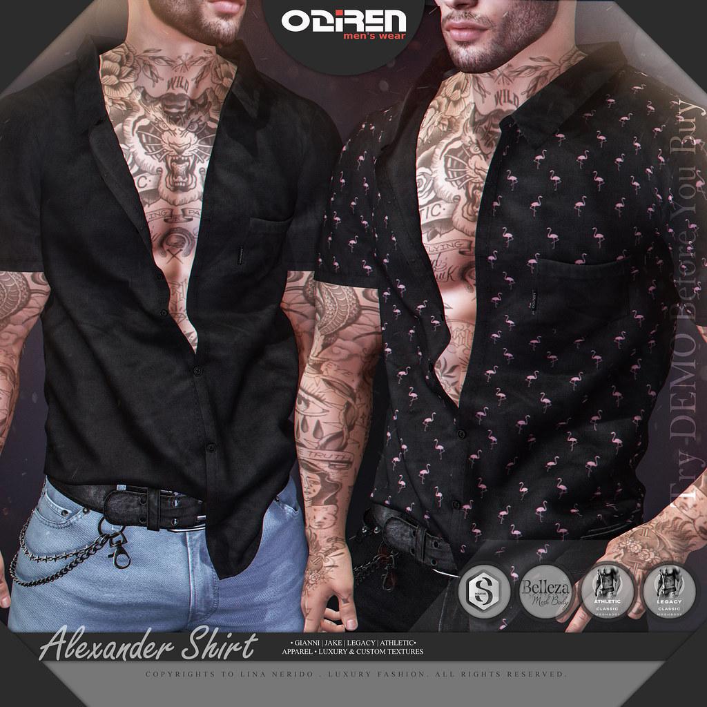 -ODIREN- Alexander Shirt