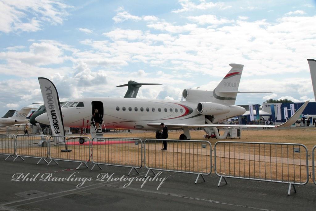 F-HDOR 2017 Dassault Falcon 900LX Farnborough International Airshow 18.07.18