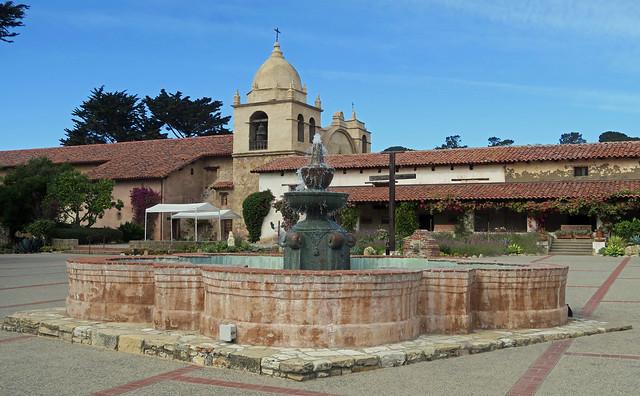 Mission San Carlos Borromeo de Carmelo- Carmel, California