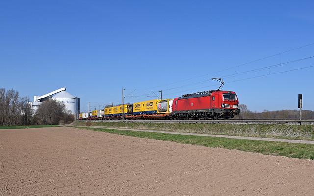 DB Cargo 193 377 - Wierthe