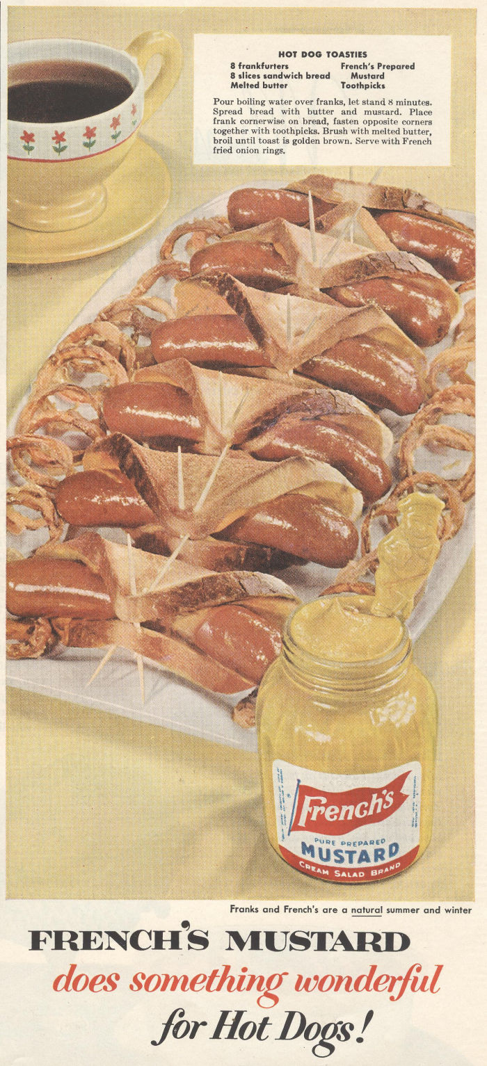 French's Mustard - published in Life - December 10, 1954