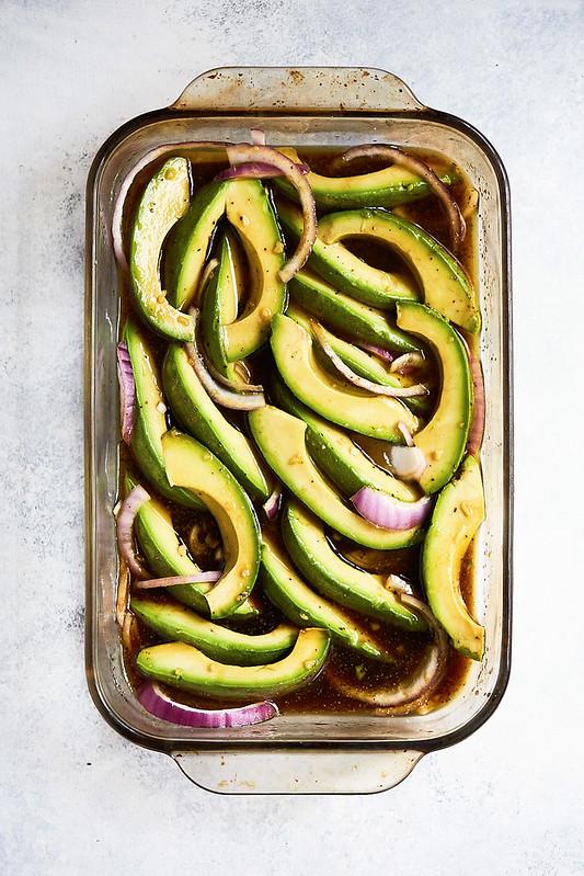 California-Style Marinated Avocado Salad {gluten-free, paleo, keto, vegan, Whole30}
