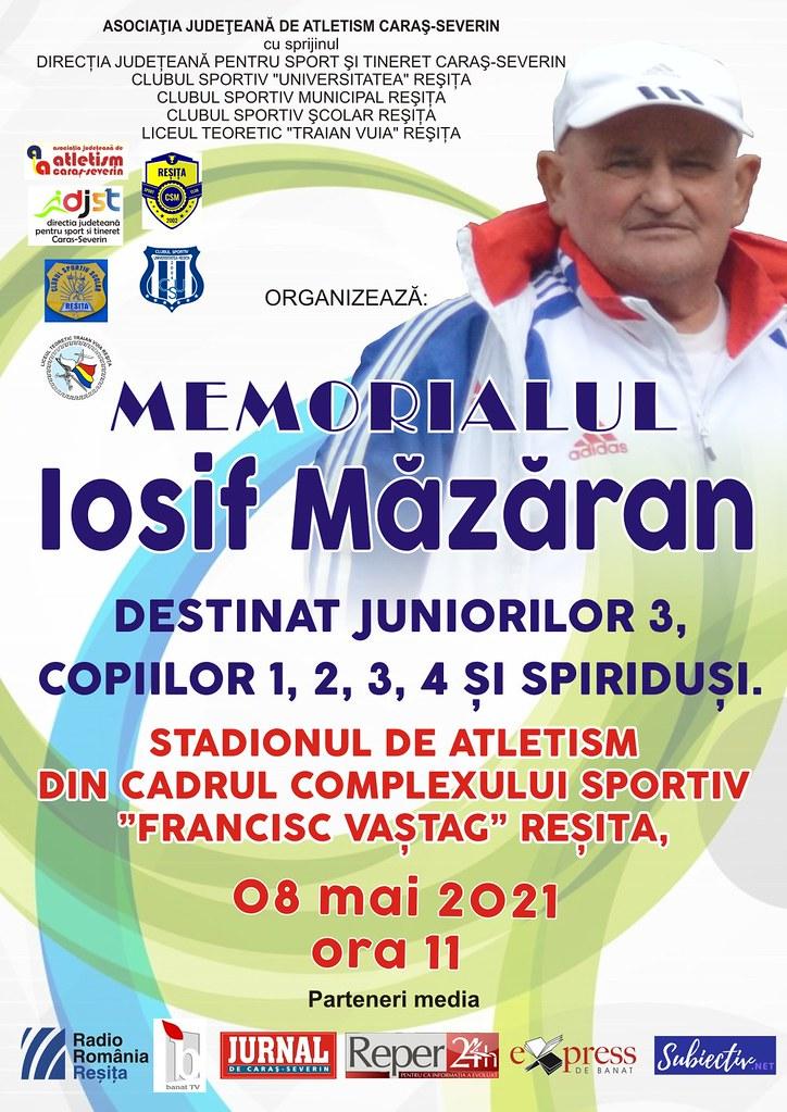 afis MEMORIAL IOSIF MAZARAN