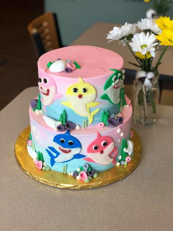 Cake by Amoroso's Bakery