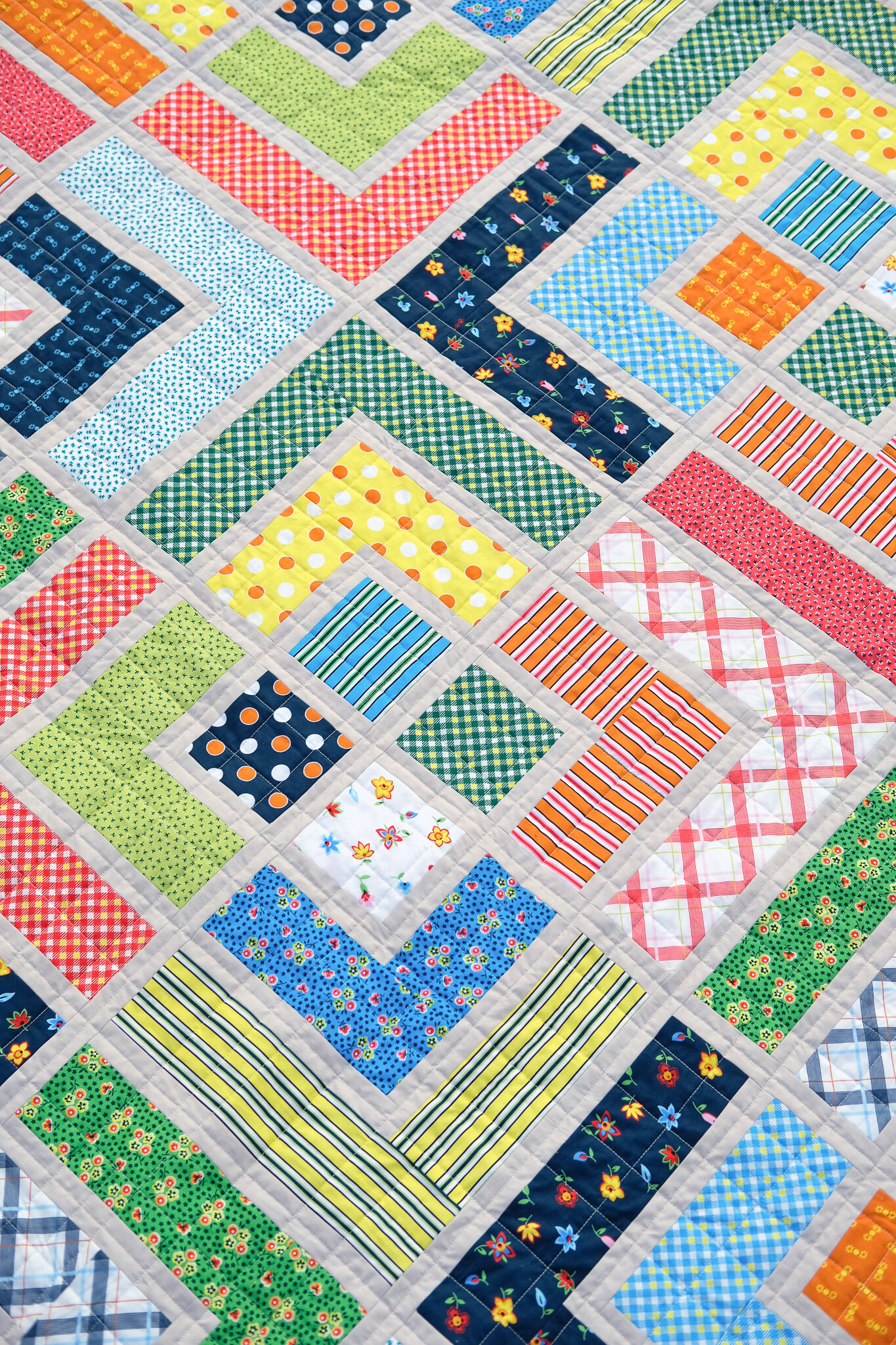 The Penny Quilt in Five and Ten - Kitchen Table Quilting