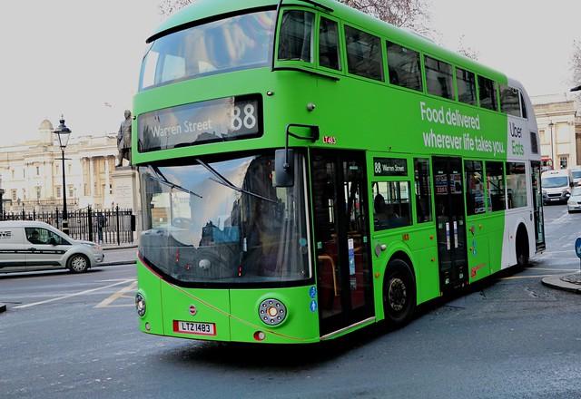 Go Ahead London General - LT483 - LTZ1483 - Uber Eats