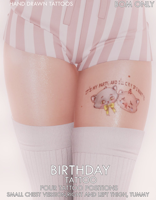{ Pity Party } Group Gift Birthday Tattoo