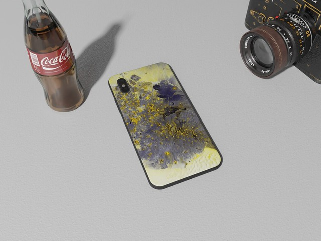 Yellow-Painting-Watercolor-paint-Acrylic-paint-Case-for-iPhone-Samsung-OnePlus-31060