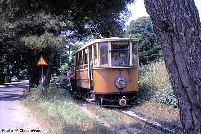 Trams de Dubrovnik (Croatie)