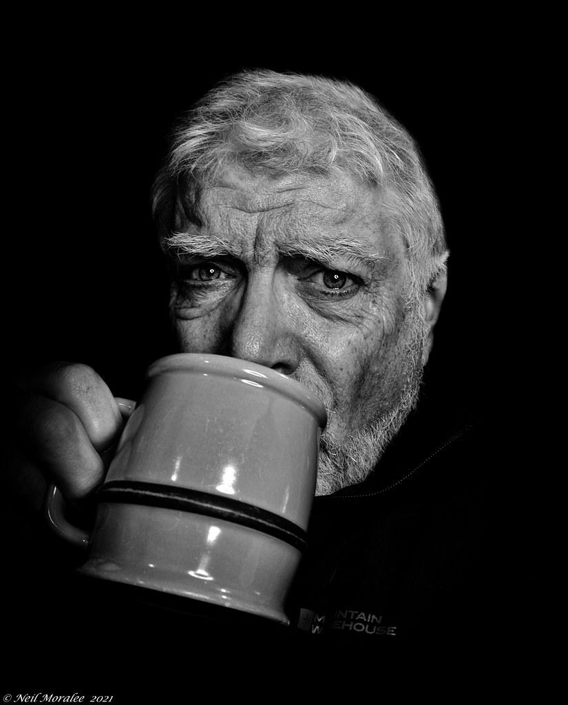 UK Lockdown (3) day 121, Large coffee morning.