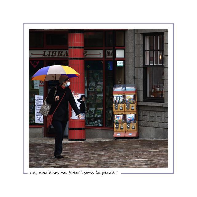 Les couleurs du Soleil sous la pluie !
