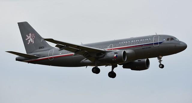 CZECH AIR FORCE (2801) AIRBUS A319-115X/CJ (MSN 2801) / AEROPUERTO SAN PABLO-SEVILLA (SVQ / LEZL)