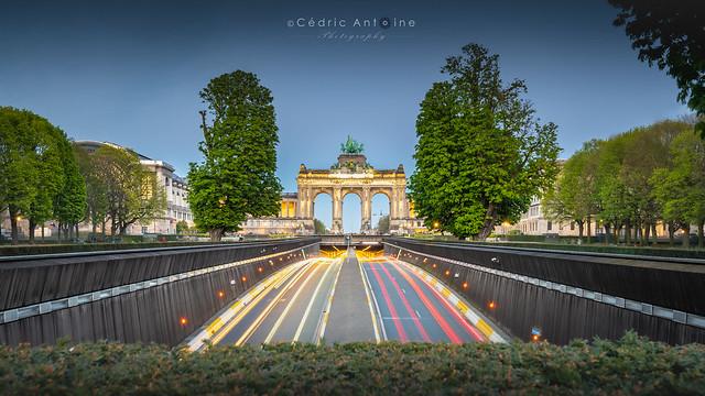 Arcades du Cinquantenaire (Bruxelles) [in Explore]