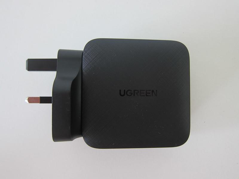Ugreen 65W GaN Triple USB-C Plus USB-A Charger - Side
