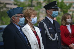 State Rep. Tami Zawistowski (center) takes part in an event at the state capitol commemorating Polish Constitution Day.